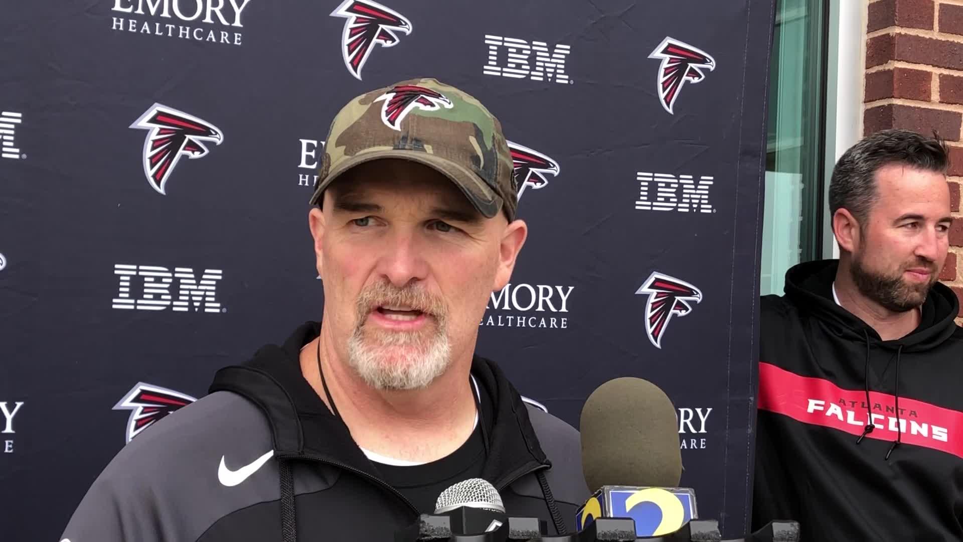 Falcons Make Changes To Coaching Staff