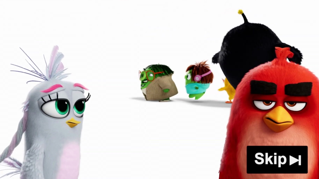 The Angry Birds Movie 2 Skip Button Spot